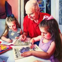 Dad's Third Act Art Prints & Posters by Kelly Eddington