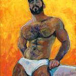 Caliente Bear Hot Bear by RD Riccoboni
