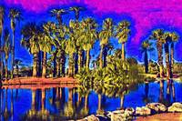 Papago Palms by Kirt Tisdale