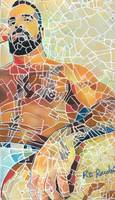 Mosaic Man Beartropolis Man Map Painting