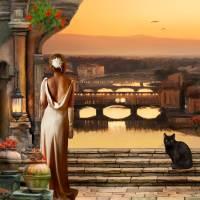 Italian Dreams Art Prints & Posters by Anne Vis