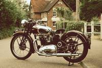 The 1940 Speed Twin Motorcycle