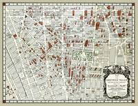 Greenwich Village NYC Map 1961