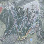 Snowmass Resort Trail Map Prints & Posters