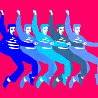 Blue Elvis | Pop Art Art Prints & Posters by William Cuccio