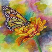"""Butterfly Kiss"" by HaileyWatermedia"