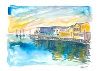 Monterey Bay California Cannery Row Waterfront