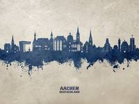 Aachen Germany Skyline
