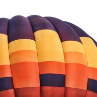 Gold Hot Air Balloon by Through The Split Window