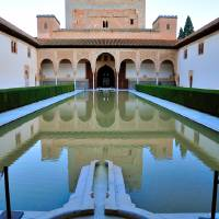 Palace of Dreams - Alhambra, Before Sunrise Art Prints & Posters by Joao Ponces de Carvalho