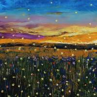 Fireflies Art Prints & Posters by Michael Creese