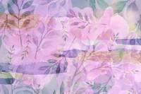 Soft Pink and Purple Botanical by Carol Groenen