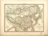 Map of China by Lapie and Tardieu (1842)