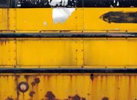 School Bus Abstract by David Kocherhans