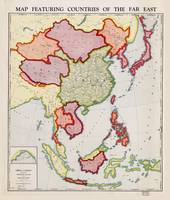 Map of Far East Asia (1932)