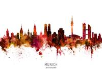 Munich Germany Skyline