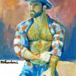 Go West  Handsome Cowboy by RD Riccoboni