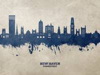 New Haven Connecticut Skyline