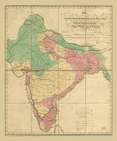 Map of India (1818)