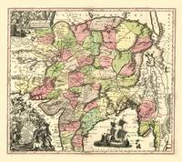 Map of India (1735)