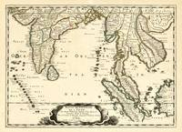 Map of Southeast Asia (1654)