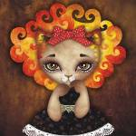 Cowardly Lioness Prints & Posters