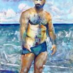 Beach Runner - Stormy by RD Riccoboni