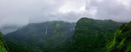 Western Ghats in the Monsoons