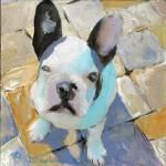 Zeke Frenchie Dog by RD Riccoboni