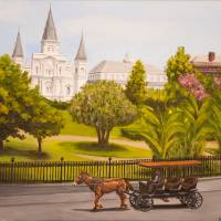 """St Louis Cathedral - Jackson Square - New Orleans"" by feeltherain"