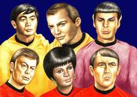 Star Trek : The characters