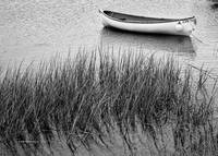 Chatham Dinghy in Black and White