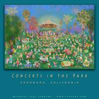 Concerts in the Park_Poster Art Prints & Posters by Michael Ives