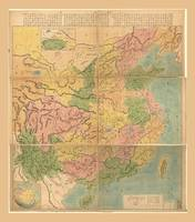 Map of China (1887)