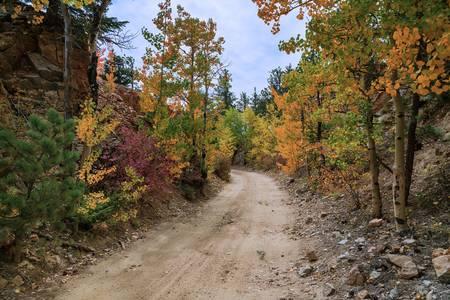 Colorful Colorado Rocky Mountain Four Wheeling