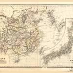 Map of China & Japan (1894) Prints & Posters