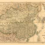 Map of China and Japan (c 1880) Prints & Posters