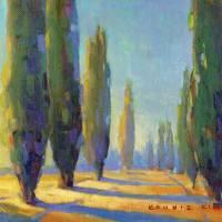 Cypress Road 6 Art Prints & Posters by Konnie Kim