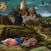 The Agony in the Garden by Andrea Mantegna Art Prints & Posters by Vintage Posters