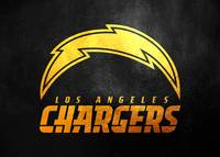 los angeles chargers gold 2