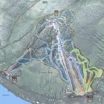 Shawnee Peak Resort Trail Map Prints & Posters