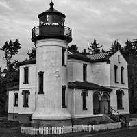 Admiralty Head Lighthouse 2 by Kirt Tisdale