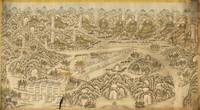 Panoramic Map of 13 Ming Emperors (1736)
