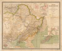 Map of Manchuria, China (1901)