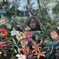 National Treasures of Panama Art Prints & Posters by Julie Jorgensen
