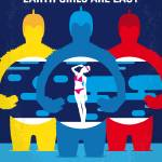 No1205 My Earth Girls Are Easy minimal movie poste Prints & Posters
