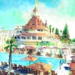 Hotel Del Coronado - Coronado California by RD Riccoboni