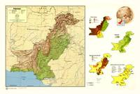 Map of Pakistan (1973)