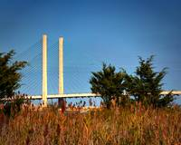 Indian River Inlet Bridge Stanchions Standing Tall