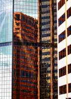 Denver Center Building Reflections by Robin Amaral